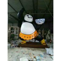 大熊猫玻璃钢雕塑厂家 玻璃钢大熊猫雕塑价格 玻璃钢动物雕塑制造商