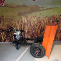 奔力SDBL-FDTC 写字楼装修输送大推车 双轮手推车加载汽油机型