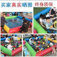放小金鱼的小水池哪卖的有 小朋友玩水的小型金鱼池哪买 加厚儿童钓鱼池设备套餐