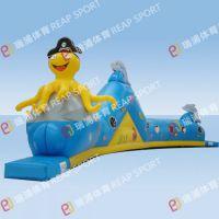 专业生产设计趣味 儿童充气通道 小型海洋娱乐城堡障碍等娱乐冲关