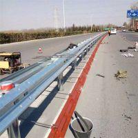 现货供应福建道路防撞栏 热镀锌喷塑三波护栏板 波形钢护栏
