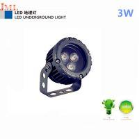户外照明厂家杰明朗直销 JML-SL-A03W LED投射灯 3W 适用亮化照明广场