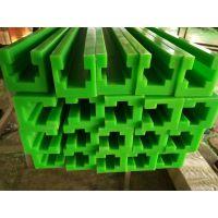 山东全奥环保科技生产自润滑耐磨超高分子量聚乙烯06b滑动直线链条导轨 T型链条导轨 规格齐全加工定制