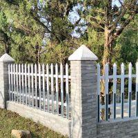 草坪绿化栅栏 公路隔离栅 社区塑钢围栏