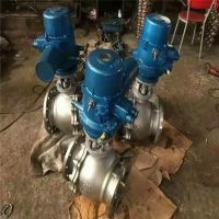 Q941H-16C DN150 铸钢电动硬密封球阀批发 电动O型咨询加工