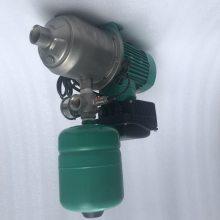 智能恒压泵WILO 威乐家用管道加压泵MHI804 高效节能变频供水泵
