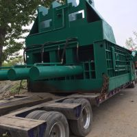 大型卧式金属压块机多少钱600吨卧式压包机料箱尺寸棉花包不锈钢压块机