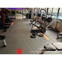 健身房康体中心形体房PVC塑胶弹性防滑运动地板胶地胶地板革批发