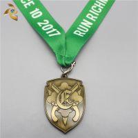奖牌定制金属马拉松制作运动会奖牌定做竞赛纪念奖幼儿园儿童冠军
