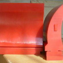优质耐磨聚氨酯清扫器刀头 清扫器刮板H型/p型