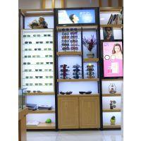快时尚明月眼镜店装修 带你体验生活 领略定制眼镜展柜潮流