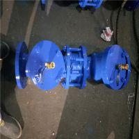 防污隔断阀 HS41X-16 DN150 法兰管道倒流防止器 厂家直销