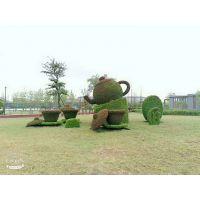 厂家直销绿雕造型 儿童乐园仿真绿雕人物雕塑