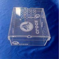 厂家制作产品终端包装盒 品牌鞋子包装收纳盒 供应亚克力鞋盒