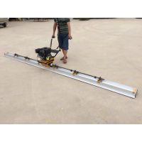直销手扶振平尺 3.7标配带排振混凝土摊铺机加厚钛合金双层刮平尺