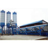 hzs75混凝土搅拌站生产线