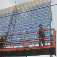 镀锌冲孔网 防风抑尘网价格 金属防风抑尘网
