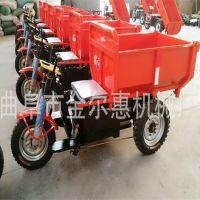 沙石料水泥装载货运车 小型工程三轮车 农用电动车柴油工程翻斗车