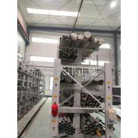 管材存放有效安全耐用省空间好操作的存储形式:伸缩悬臂式管材货架