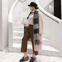 卡宴妮女装批发品牌折扣冬羊绒围巾尾货走份货源直供