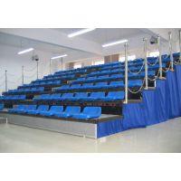 湖南长沙科瑞得室内大型铝合金伸缩折叠活动塑料观众看台