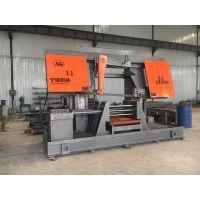 济南宁瑞机械专供双立柱卧式半自动带锯床GZ-4260高精度锯切质优价廉锯切各种钢材