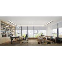 高雅朴素,温和自然-渠道网络公司办公室装修