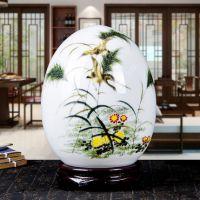 仿古粉彩瓷器摆件花鸟台面花瓶釉上彩古玩收藏品清代粉彩瓷花瓶