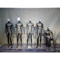 潮牌男装模特道具 铁笼头男士模特 新款橱窗玻璃钢模特