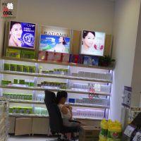化妆品展示柜展柜定做新款母婴美妆店美容院柜台化妆品货架展示架