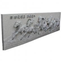 浮雕仿画卷石雕 大理石浮雕 专业生产加工值得信赖