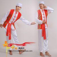 打鼓舞龙表演服装舞龙舞狮服装民族舞蹈演出服饰太极服武术服男装