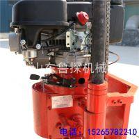 山东鲁探供应30米轻便岩心钻机 QZ-2C地质勘探钻机野外取芯机