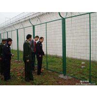 浸塑护栏网售后好,变电场护栏网片,绿色铁丝围墙网