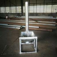 螺旋提升机效率高 矿石粉自动提升机 金禾管式螺旋给料机