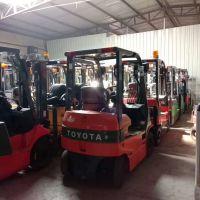 直销二手堆高叉车日本进口电动叉车丰田全自动小型1吨1.5吨叉车