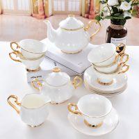 亿美批发陶瓷咖啡具套装 英式骨瓷咖啡杯碟下午茶礼品定制