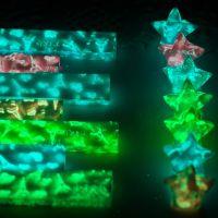 荧光折纸夜光折爱心玫瑰彩纸星星许愿纸儿童手工纸材料千纸鹤