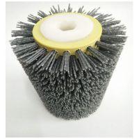 按需定制 抛光磨料丝毛刷辊 磨料丝辊 杜邦丝毛刷辊 来图可定制