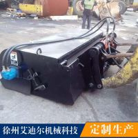 装载机铲车配件84封闭清扫器价格 小型农用四轮车配2.1米扫地器