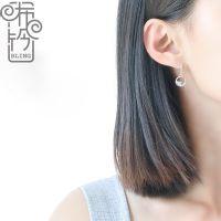 bling手作[清泉]小耳坠女简约耳钉气质精致韩国纯银百搭超仙森系