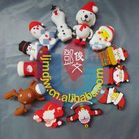 12生肖圣诞狗狗老人U盘 3.0 32G 雪人圣诞袜U盘 圣诞节优盘圣诞树