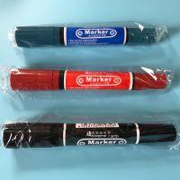 记号笔 耐用大头笔 双头记号笔 美工笔头 畅销爆款一元地摊货源