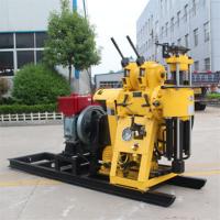 新款百米液压勘察钻探机 hz-130y小型户外农田水井钻机