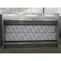 河南钢结构生产厂 移动喷漆房 喷漆漆雾处理设备 水旋式喷漆柜