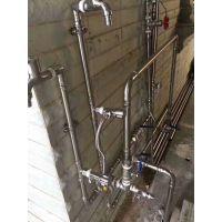 常规304家装薄壁不锈钢水管DN20不锈钢管卡压式连接