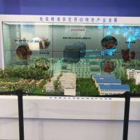全彩透明屏幕安装 北京透明屏幕 鸿光数字 透明屏幕租赁