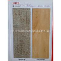 佛山木纹石塑PVC地板车库货梯阳台电梯耐磨加厚防水片材塑胶地砖