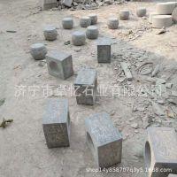 石雕柱墩空心石墩柱底石方墩石仿古石雕厂家直销