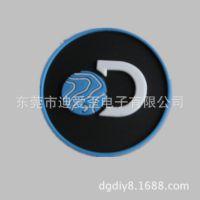 工厂定制做 箱包衣服商标 PVC软胶商标 pvc商标滴塑标 滴胶胶章